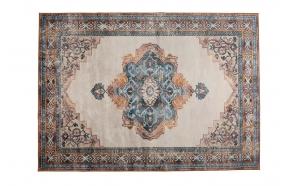 Carpet Mahal Blue/Brick 200X300