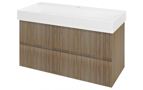FILENA Vanity Unit 95x51,5x43cm, oak