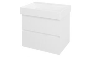 FILENA Vanity Unit 57x51,5x43cm, white