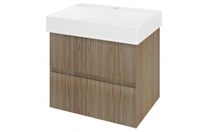 FILENA Vanity Unit 57x51,5x43cm, oak