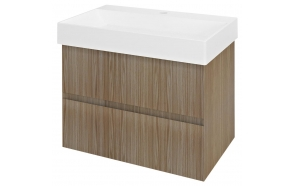 FILENA Vanity Unit 67x51,5x43cm, oak