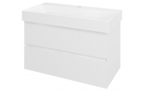 FILENA Vanity Unit 82x51,5x43cm, white