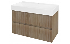 FILENA Vanity Unit 82x51,5x43cm, oak