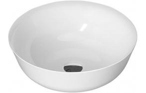SINGA Cultured Marble round Washbasin 41,5cm, white