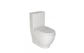 rimfree back to wall wc Mare, universal trap, dual flush (MA361+MA410+IT5030)