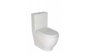 rimfree back to wall wc Mare, universal trap, dual flush (MA361+MA410+IT5030)