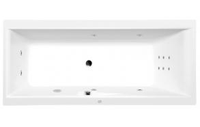 CLEO HYDRO hydromassage Bath tub, 180x90x48 cm, white
