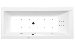 massaaživann Cleo Hydro-Air, 160x75x48 cm, valge