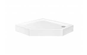 Acrylic shower tray Pergo 90x90x16 cm, white, siphon not included
