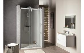 VOLCANO  Shower Door 1200 mm, clear glass