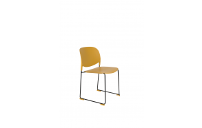 Chair Stacks Ochre
