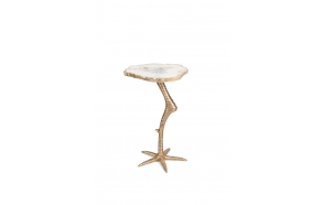 Beauty And The Bird Side Table