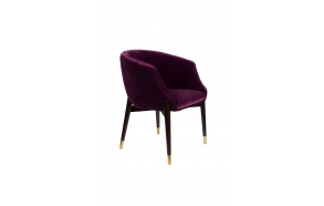 käetugedega tool Dolly Purple (fire retardant)