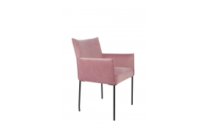 Armchair Dion Velvet Pink