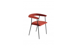 Armchair Haily Wine Red