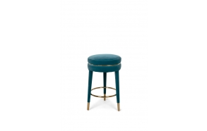 I Am Not A Macaron Counter Stool Blue