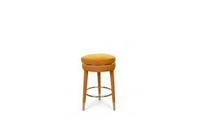 I Am Not A Macaron Counter Stool Ochre
