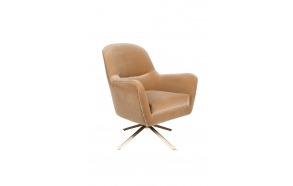Lounge Chair Robusto Caramel Fr