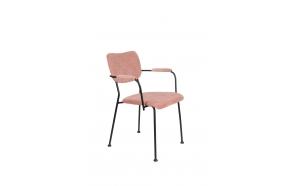 käetugedega tool Benson, Pink