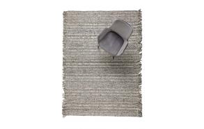 Carpet Frills 170X240 Grey/Blue