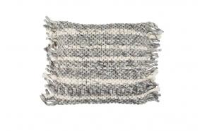 Pillow Frills Grey/Blue