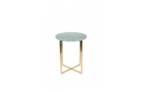 Side Table Luigi Round Green