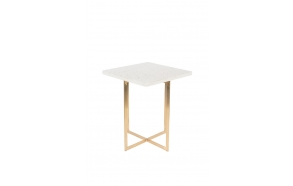 Side Table Luigi Square White