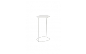Side Table Moondrop Single White