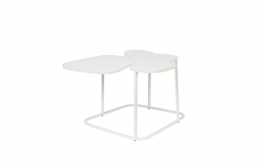 Side Table Moondrop Multi White