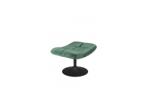 Hocker Bar Velvet Green