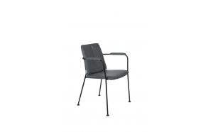 käetugedega tool Fab Grey Blue