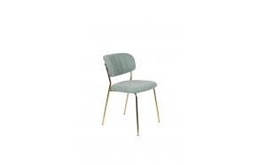 Chair Jolien Gold/Light Green