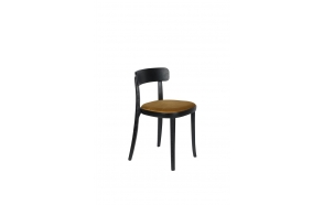 Chair Brandon Black/Ochre