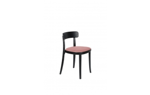 Chair Brandon Black/Pink