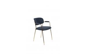 käetugedega tool Jolien kuld/tumesinine