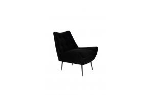 Lounge Chair Glodis Nero