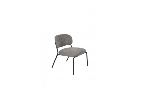 Lounge Chair Jolien Black/Grey
