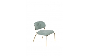 Lounge Chair Jolien Gold/Light Green