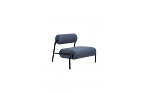 Lounge Chair Lekima Dark Blue