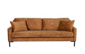 Sofa Houda 3 Seater Caramel