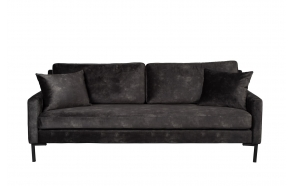 Sofa Houda 3 Seater Anthracite