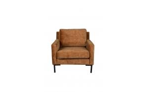 Sofa Houda 1 Seater Caramel