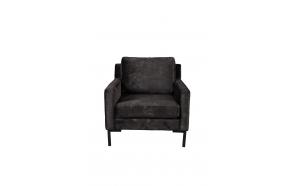 Sofa Houda 1 Seater Anthracite