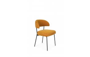 The Winner Takes It All Chair Ochre