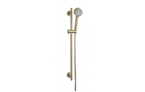 Cadans luxury shower set, brushed brass