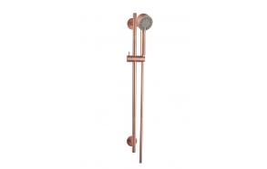 Cadans luxury shower set, brushed copper