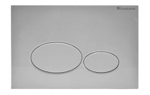 Wiesbaden flush plate, mat white