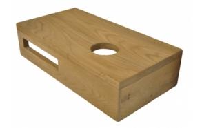 Oak shelf 40 x 21 x 10 cm right