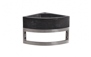 stainless steel basin console 30x30x15 cm