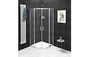 SIGMA SIMPLY Quadrant Shower Enclosure 1000x1000mm, R550, clear glass